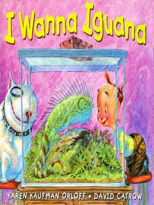 cover image of I Wanna Iguana