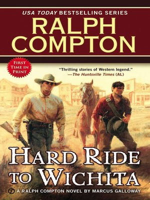 cover image of Ralph Compton Hard Ride to Wichita