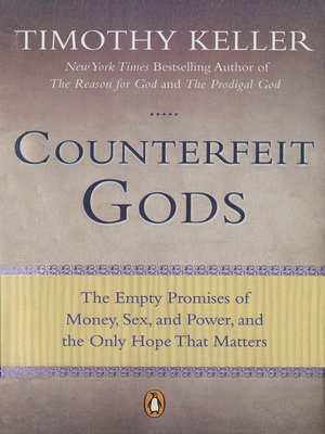 cover image of Counterfeit Gods