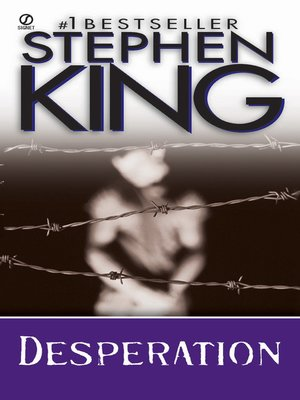 cover image of Desperation