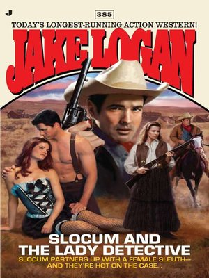 cover image of Slocum and the Lady Detective