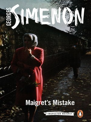 cover image of Maigret's Mistake