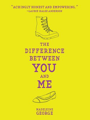 cover image of The Difference Between You and Me