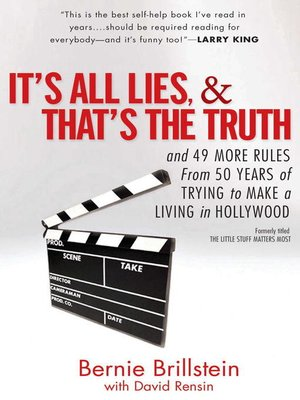 cover image of It's All Lies and That's the Truth