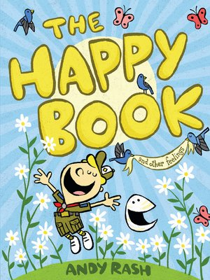 cover image of The Happy Book