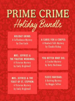 cover image of Prime Crime Holiday Bundle