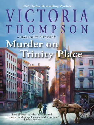 cover image of Murder on Trinity Place