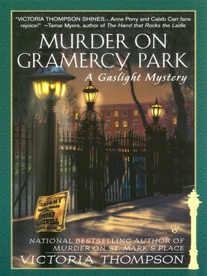cover image of Murder on Gramercy Park