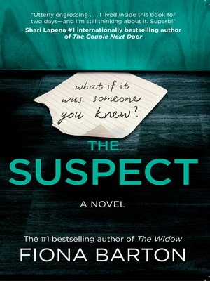 cover image of The Suspect