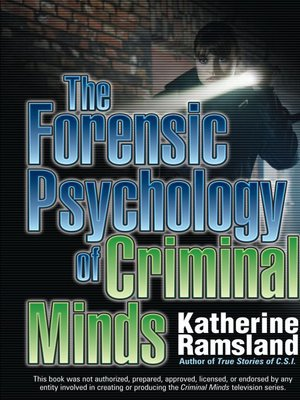 cover image of The Forensic Psychology of Criminal Minds