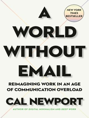 cover image of A World Without Email