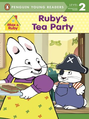 cover image of Ruby's Tea Party