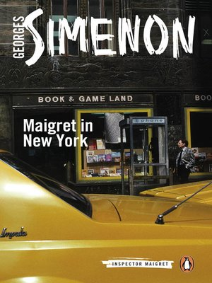 cover image of Maigret in New York