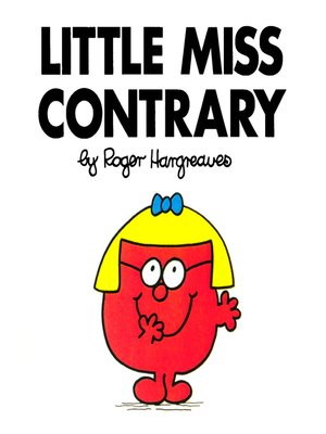 cover image of Little Miss Contrary