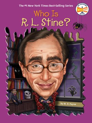 cover image of Who Is R. L. Stine?