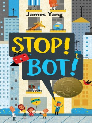 cover image of Stop! Bot!