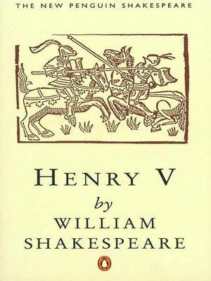 cover image of Henry V (Penguin)