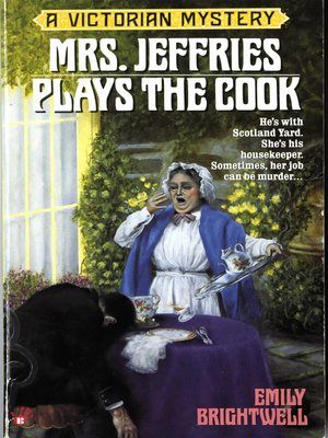 cover image of Mrs. Jeffries Plays the Cook