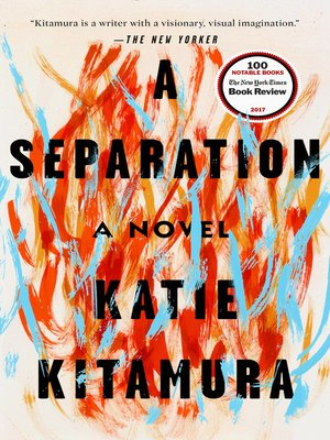 cover image of A Separation
