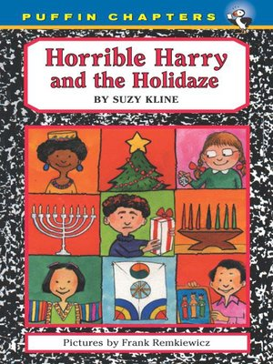 cover image of Horrible Harry and the Holidaze