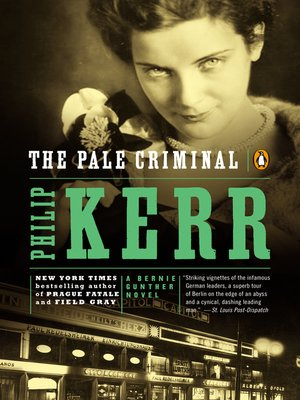 cover image of The Pale Criminal