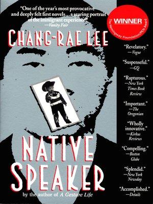 cover image of Native Speaker