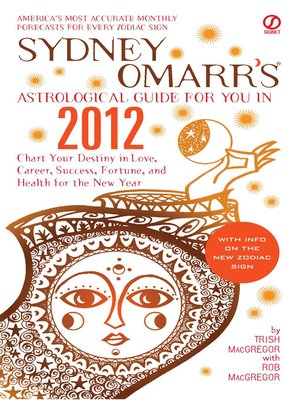 cover image of Sydney Omarr's Astrological Guide for You in 2012