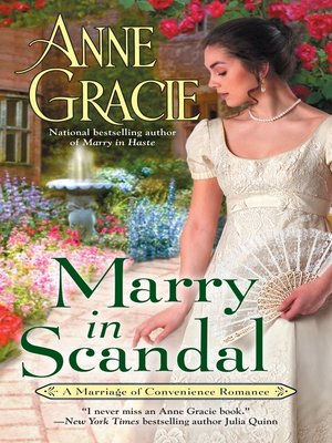 cover image of Marry in Scandal