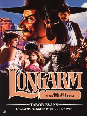 cover image of Longarm and the Missing Marshall