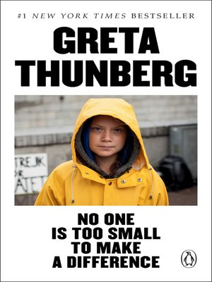 cover image of No One Is Too Small to Make a Difference