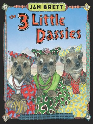 cover image of The 3 Little Dassies