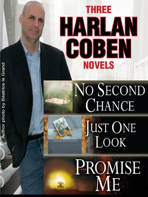 cover image of Three Harlan Coben Novels