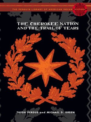 cover image of The Cherokee Nation and the Trail of Tears