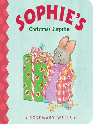 cover image of Sophie's Christmas Surprise