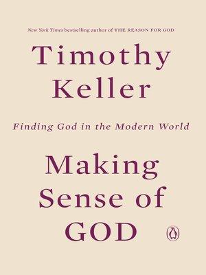 cover image of Making Sense of God