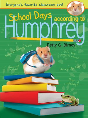cover image of School Days According to Humphrey