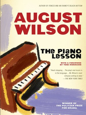 cover image of The Piano Lesson