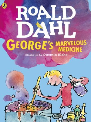 cover image of George's Marvelous Medicine