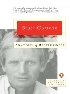 cover image of Anatomy of Restlessness