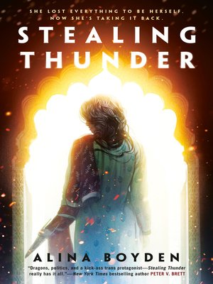 Stealing Thunder Book Cover