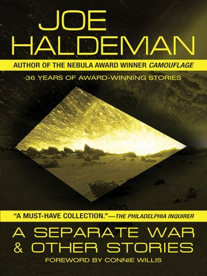 cover image of A Separate War and Other Stories