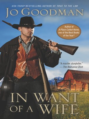 cover image of In Want of a Wife