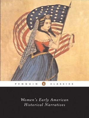 cover image of Women's Early American Historical Narratives