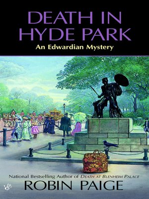 cover image of Death In Hyde Park