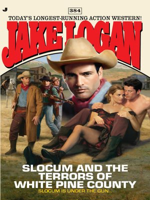 cover image of Slocum and the Terrors of White Pine County