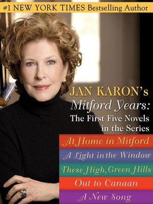 cover image of Mitford Years, The First Five Novels