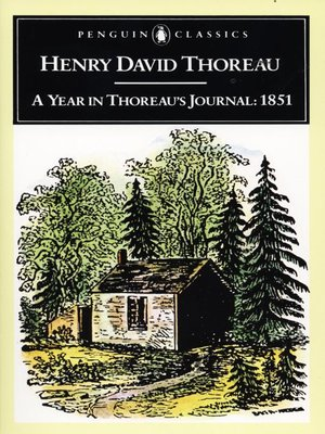 cover image of A Year in Thoreau's Journal
