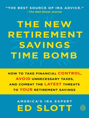 cover image of The New Retirement Savings Time Bomb