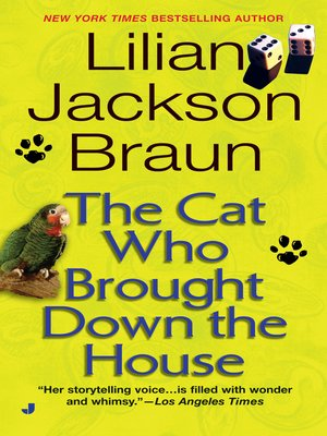 cover image of The Cat Who Brought Down The House