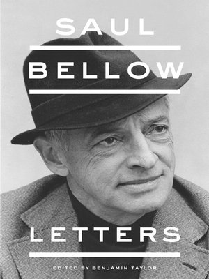 cover image of Saul Bellow